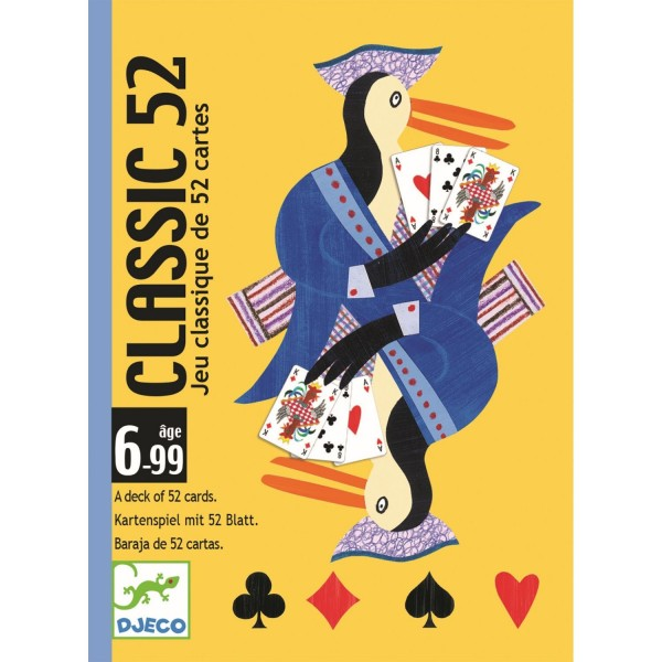 """Kartenspiel """"Classic 52"""" KLASSISCHE SPIELKARTEN 6-99"""