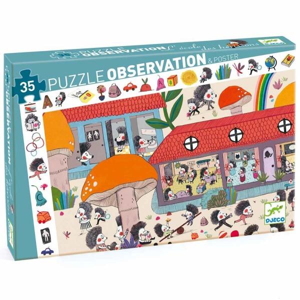 "Such-Puzzle ""Die Igelschule"" 35 Teile"