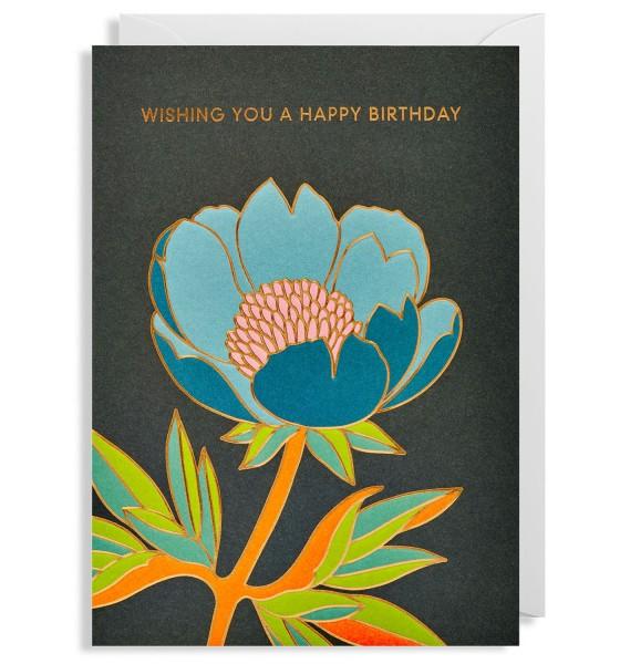 "Klappkarte ""Wishing You A Happy Birthday"" Hanna Werning"