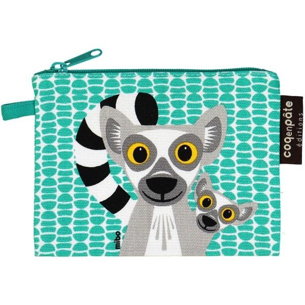 """Geldbeutel Mibo """"Lemur"""" grün"""