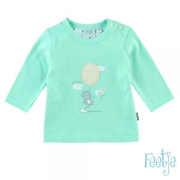 "Baby-Shirt ""Bär mit Ballon"" mint"