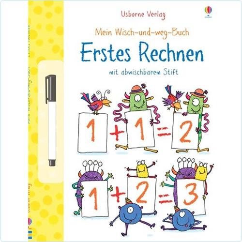"""Wisch-und-weg-Buch """"Erstes Rechnen"""""""