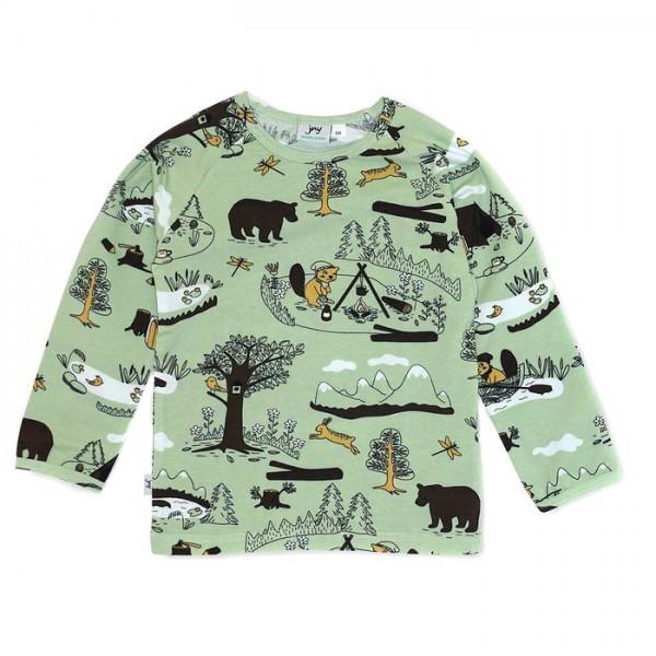"""Shirt """"Wildnis"""" salbeigrün"""