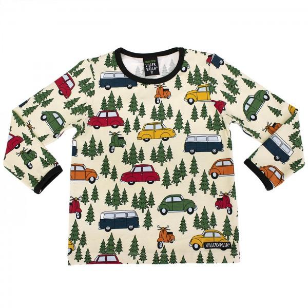 "Bio Shirt ""Fahrzeuge & Bäume"" natur"
