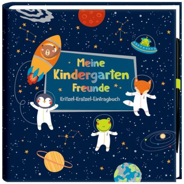 "Freundebuch ""Outer Space - Meine Kindergartenfreunde"""