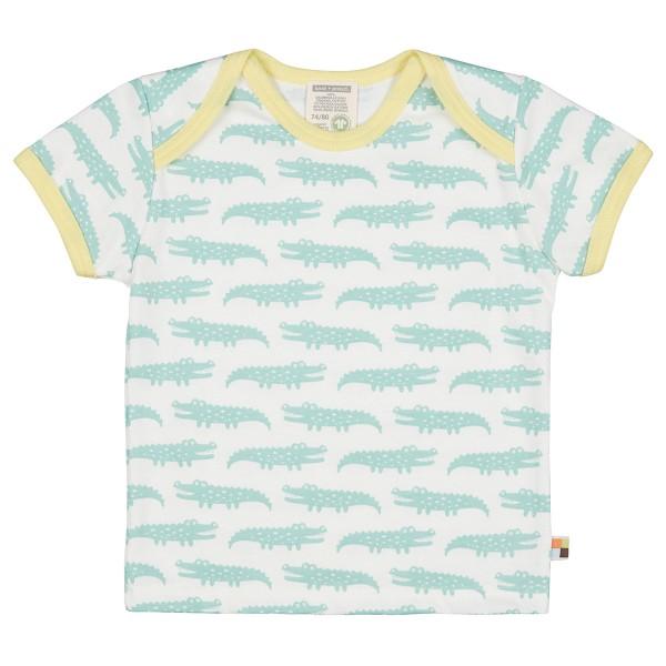 """Kurzarm-Shirt """"Krokodil"""" mint"""