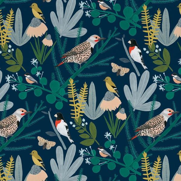 """Geschenkpapier """"Chicago School Birds"""" 2-seitig"""