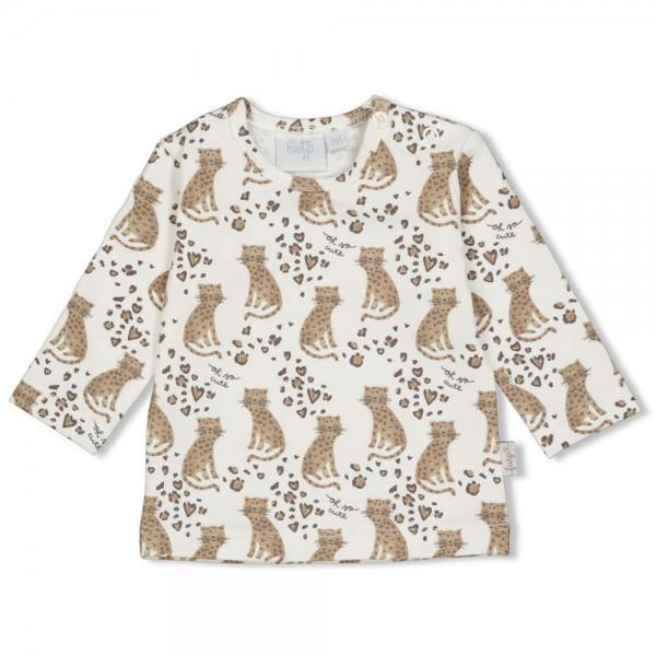 "Baby-Shirt ""Leoparden"" natur"