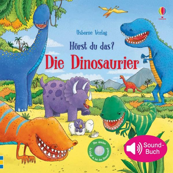 """Sound-Buch """"Hörst du das? Die Dinosaurier"""""""