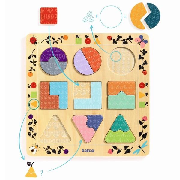 """Puzzle """"Ludigraphic - Formen"""""""