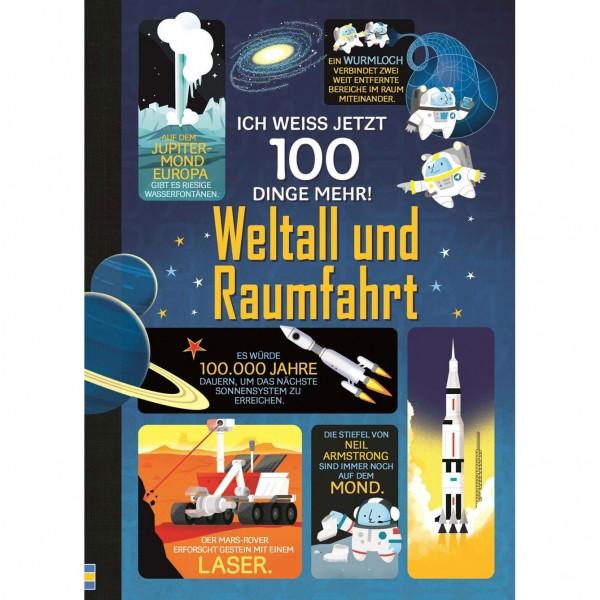 """Buch """"Ich weiß jetzt 100 Dinge mehr! Weltall und Raumfahrt"""""""