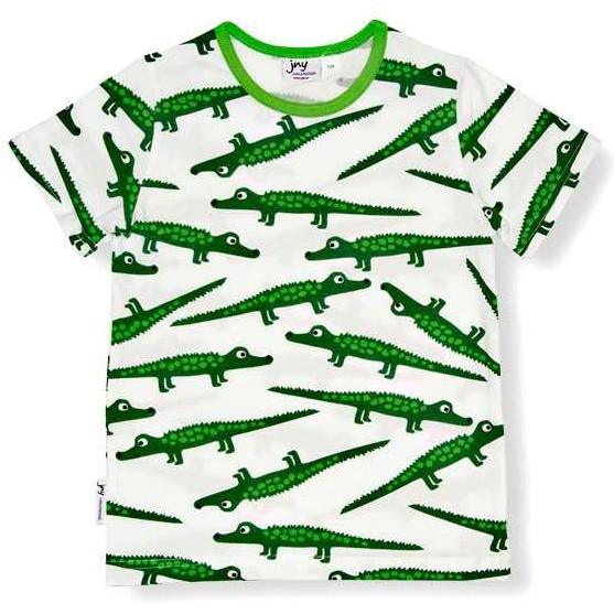 "Kurzarm-Shirt ""Krokodile"""