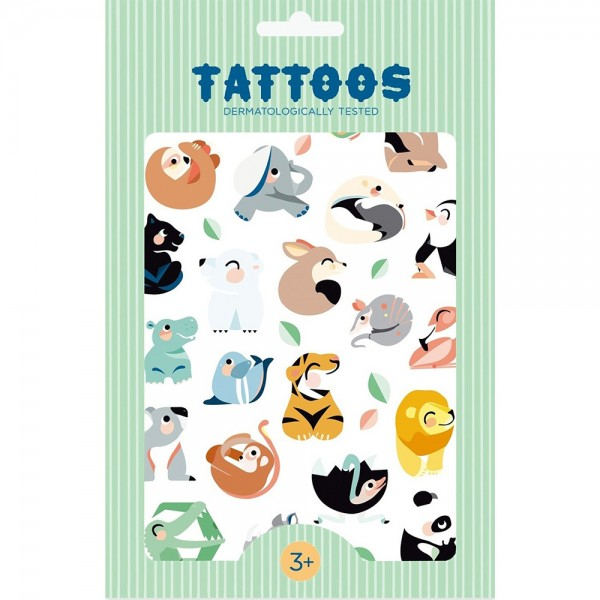 "Tattoos ""Wild Animals"""