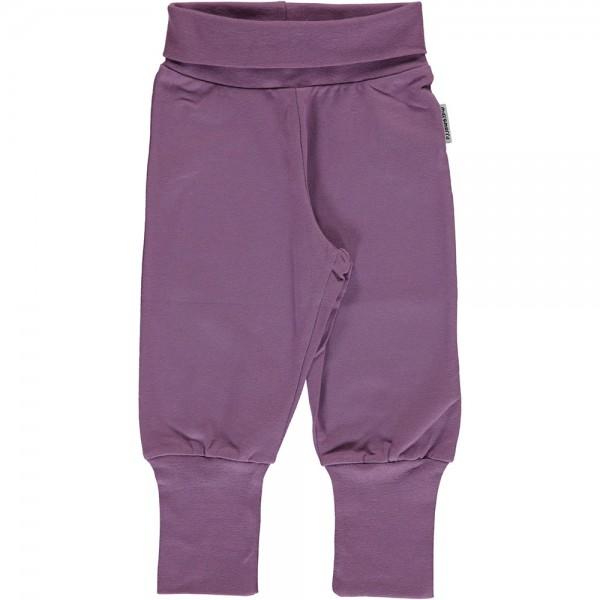 Jersey-Bündchenhose UNI dusty purple
