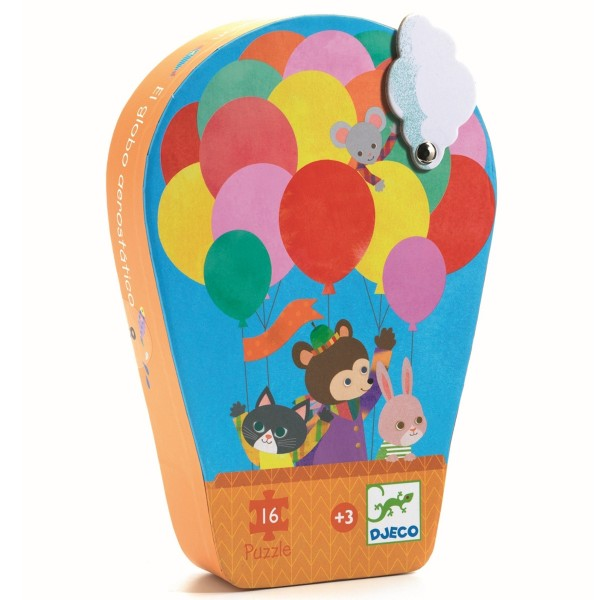 "Puzzle 16 Teile ""Luftballons"""