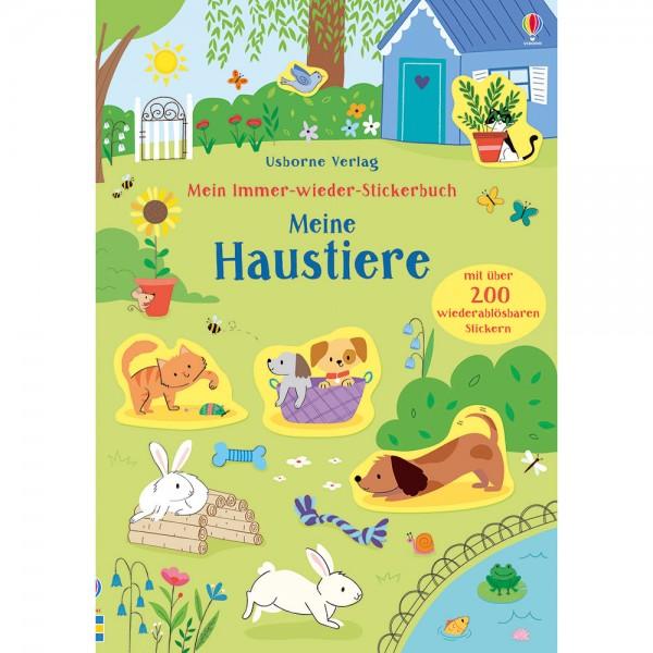 """Mein Immer-wieder-Stickerbuch """"Meine Haustiere"""""""