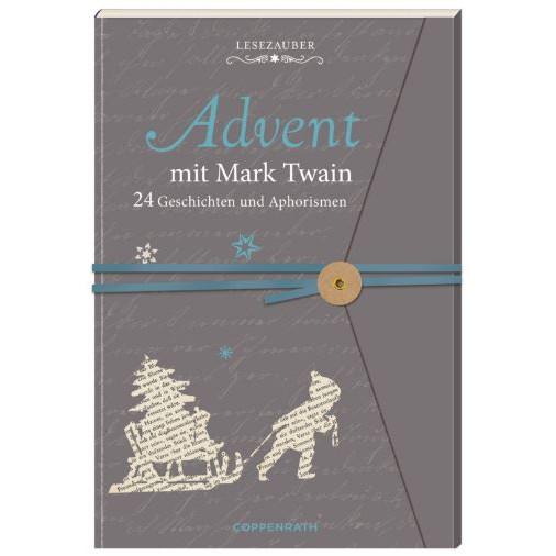 "Adventskalenderbuch ""Lesezauber - Mark Twain"""