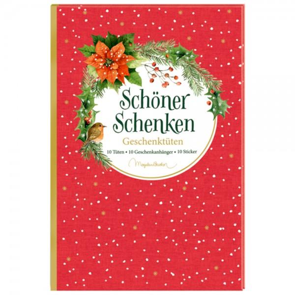 """Geschenktüten-Buch """"Weihnachten - M. Bastin"""""""