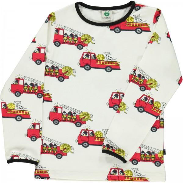 """Bio-Shirt """"Feuerwehr"""" creme"""