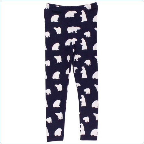 "Leggings KIDS ""Eisbären Allover"" navy"