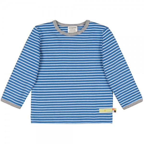 "Shirt ""Ringel"" cobalt/natur"