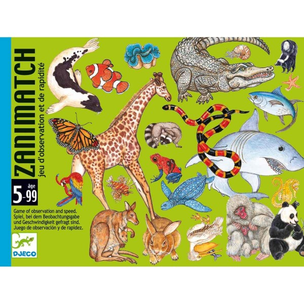 "Kartenspiel ""Zanimatch"" BEOBACHTUNG 5-99"