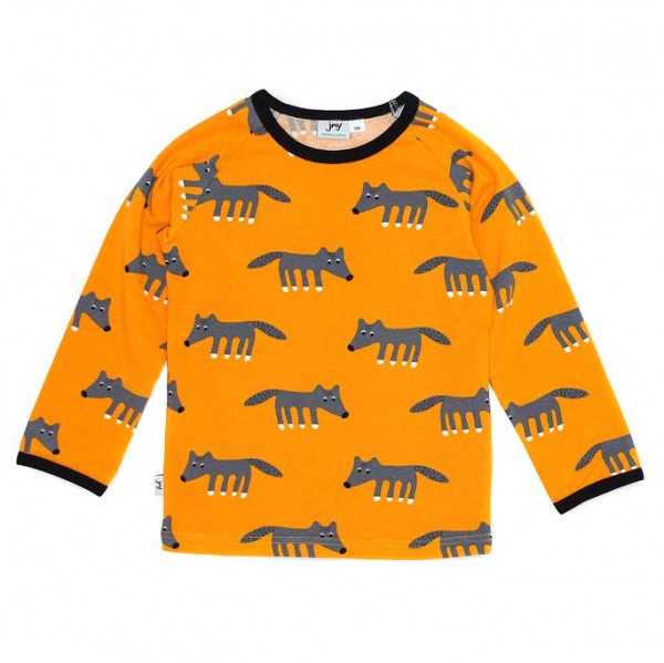 "Shirt ""Wölfchen"" orange"