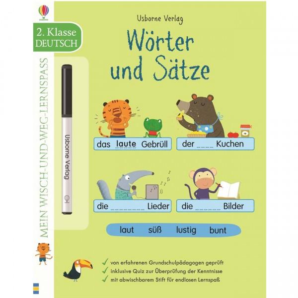 """Wisch-und-weg-Lernspaß """"Wörter und Sätze - 2. Klasse"""""""