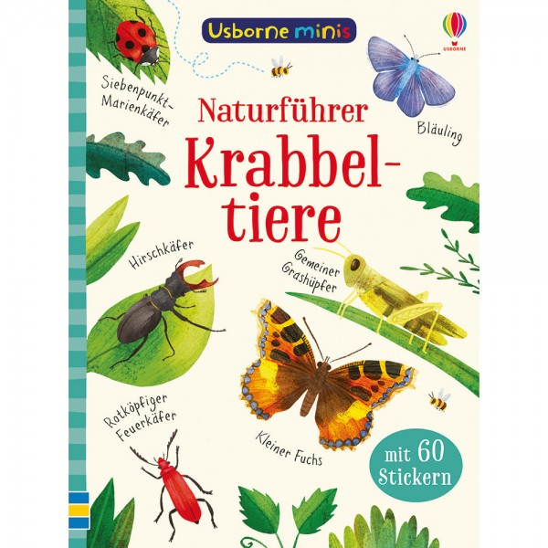 "Usborne Minis ""Naturführer Krabbeltiere"""