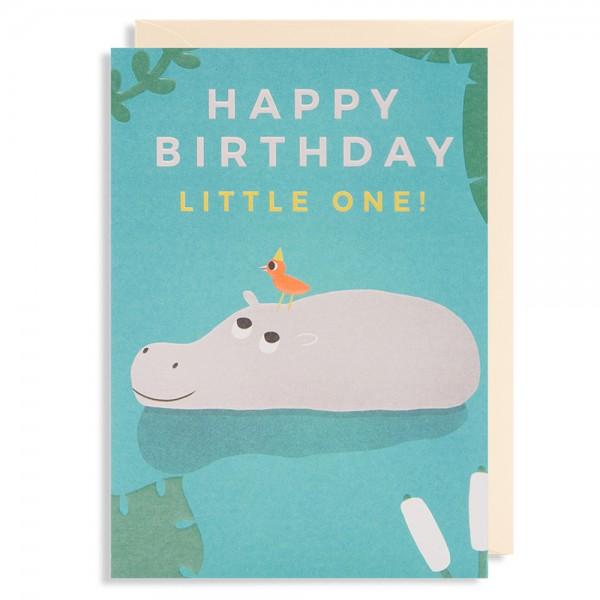 "Klappkarte ""Happy Birthday little one!"" Naomi Wilkinson"