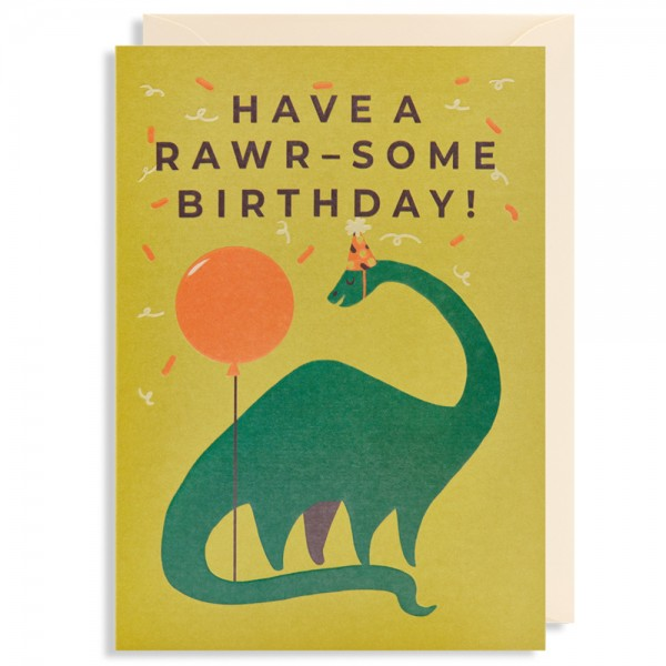 "Klappkarte ""Have A Rawr-Some Birthday!"" Naomi Wilkinson"