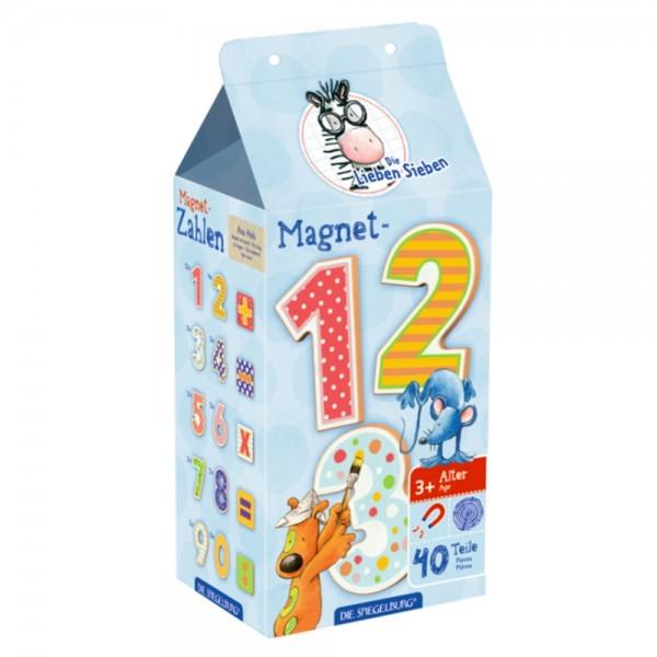 """Magnet-Zahlen """"Die Lieben Sieben"""""""