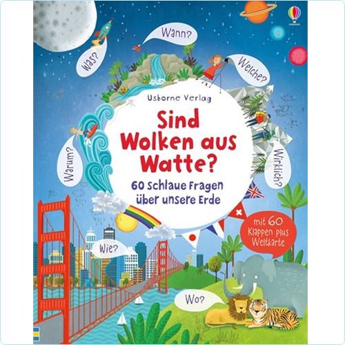 """Buch """"Schlaue Fragen - Sind Wolken aus Watte?"""""""