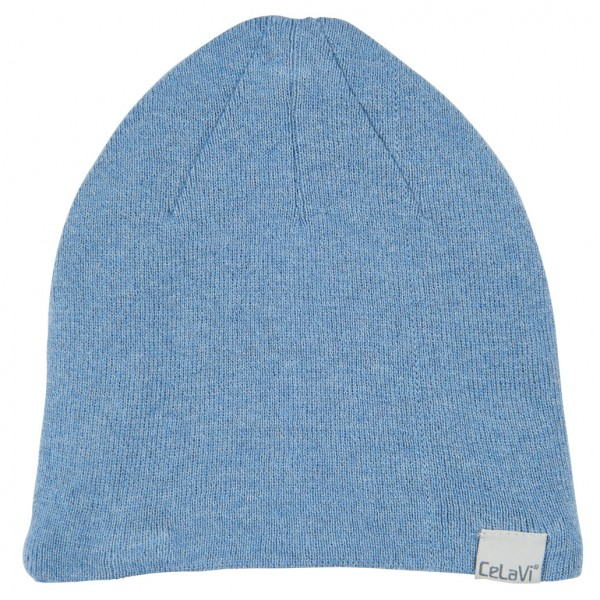 Strick-Beanie blue shadow