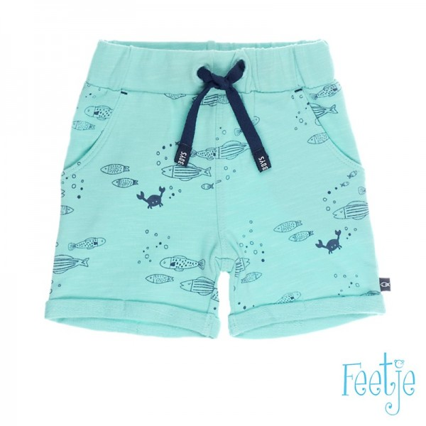 "Baby-Shorts ""Ozean"" mint"