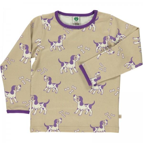 """Shirt """"Hunde"""" sand"""