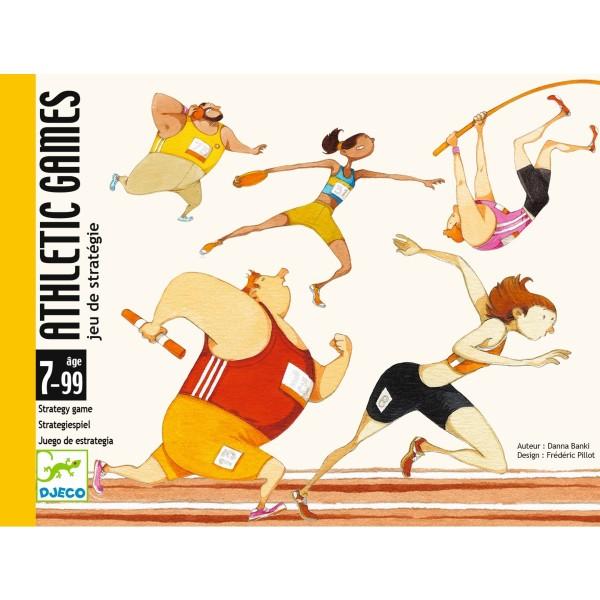 """Kartenspiel """"Athletic Games"""" STRATEGIE 7-99"""