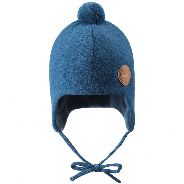Woll-Mütze denim blau