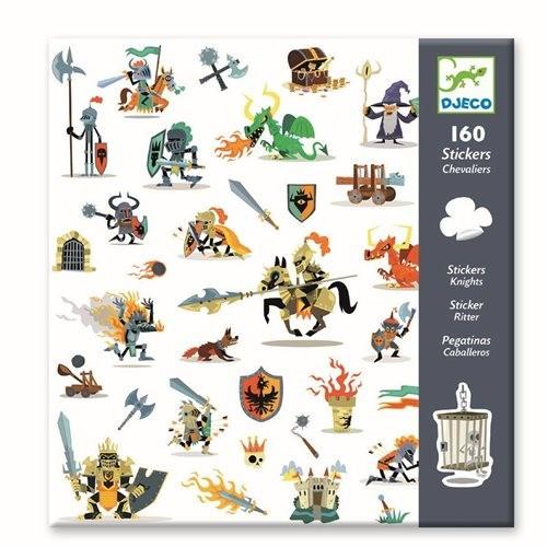 """160 Sticker/Aufkleber """"Knights"""""""