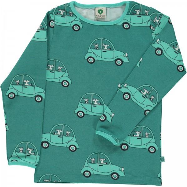 """Bio-Shirt """"Auto mit Hund"""" achat grün"""