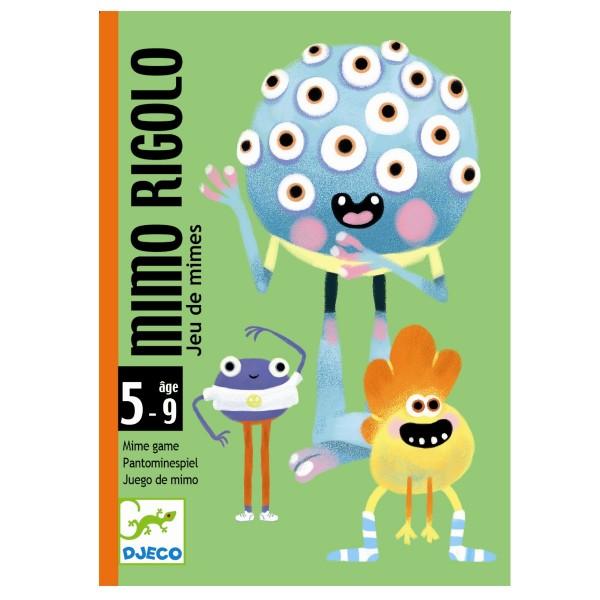"Kartenspiel ""Mimo Rigolo"" PANTOMIME 5-9"