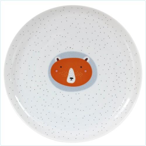 """Porzellan-Teller """"Bär"""" 20 cm"""