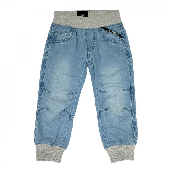 "Jeans-Bündchenhose ""Relaxed"" light wash"