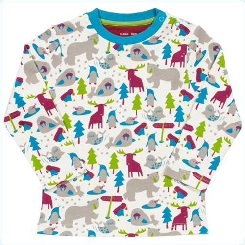 "Shirt ""Tiere im Eis"""
