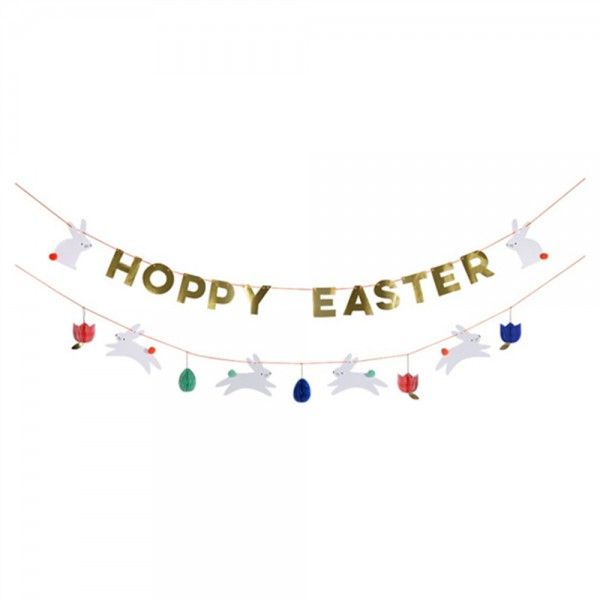"Girlande Ostern ""Hoppy Easter"""