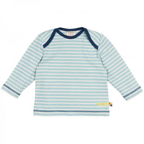 "Shirt ""Feine Streifen"" lake"