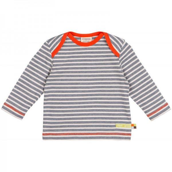 "Shirt ""Feine Streifen"" ultramarin"