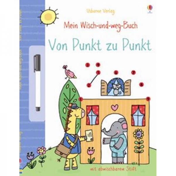 """Wisch-und-weg-Buch """"Von Punkt zu Punkt"""""""
