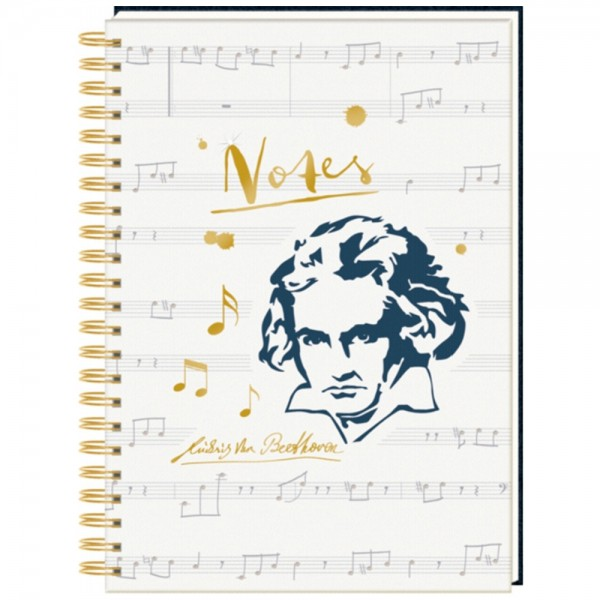 "Ringbuch DIN A4 ""All about Music"" Notes - Edition Beethoven"