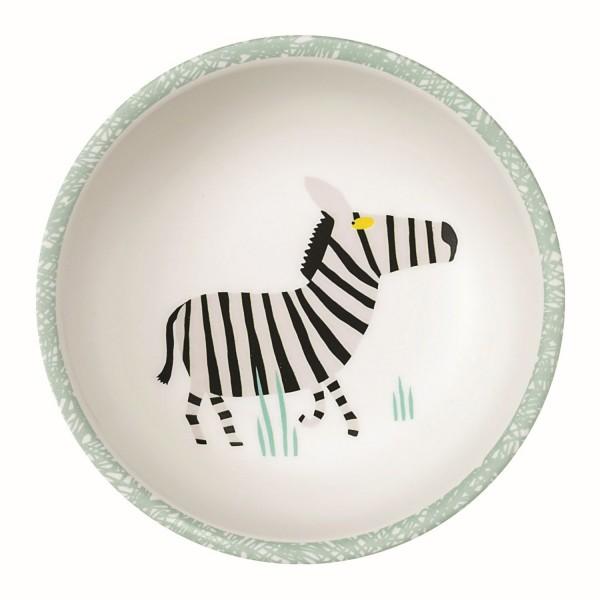 "Melamin-Schale ""Zebra - Savanne"""